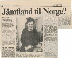 HL intervju Adressa 1991
