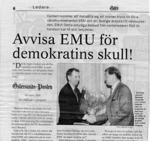 Nej till EMU 1996